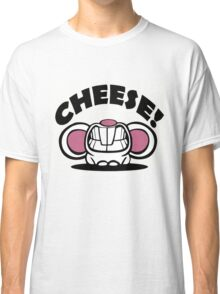 """Funny """"Say Cheese"""" mouse Classic T-Shirt"""