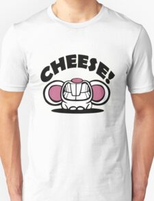 """Funny """"Say Cheese"""" mouse Unisex T-Shirt"""