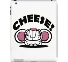 """Funny """"Say Cheese"""" mouse iPad Case/Skin"""