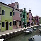 The Colours of Burano by Steve plowman