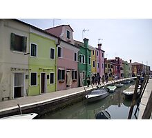 The Colours of Burano Photographic Print