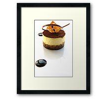 Tiramisu Framed Print