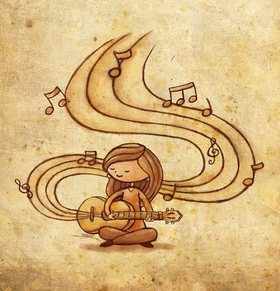 Music is Life by Ine Spee