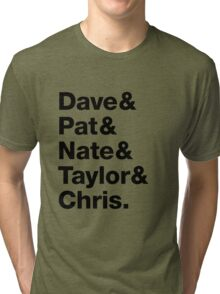 Foo Fighters • Dave & Pat & Nate & Taylor & Chris. Tri-blend T-Shirt