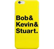 Minions • Bob & Kevin & Stuart. iPhone Case/Skin