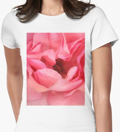 Rose Fragrance Womens Fitted T-Shirt