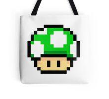 Green Mario Mushroom Tote Bag