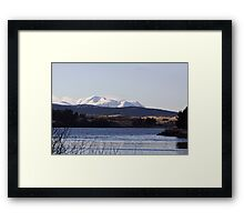 Across The Loch Framed Print