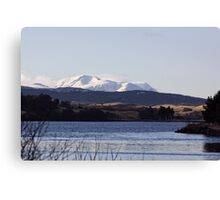 Across The Loch Canvas Print