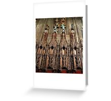St. Giles Church Edinburgh Greeting Card