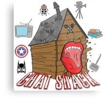 podcast Chat Shack Metal Print