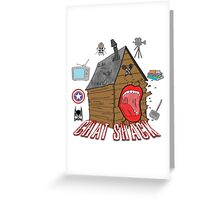 podcast Chat Shack Greeting Card