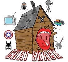 podcast Chat Shack Photographic Print