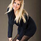 A beautiful model posing by aleksandra15