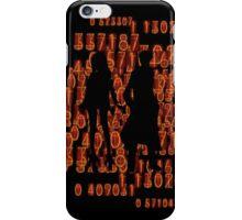 Steins;Gate Kurisu and Okabe time travelers iPhone Case/Skin