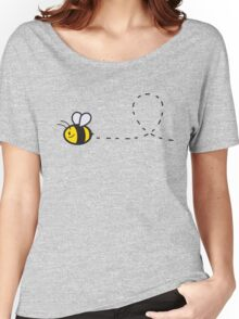 Cute Bee Top Women's Relaxed Fit T-Shirt