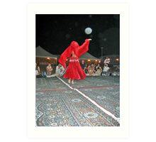 Dancing Orb Art Print