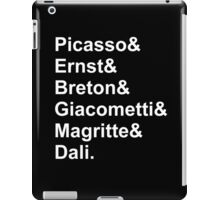 Modern Artists, Surrealists iPad Case/Skin