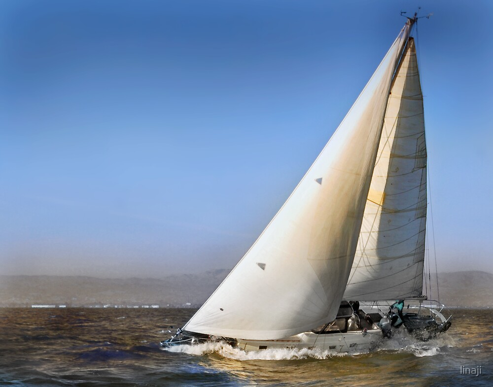 Sailing Home by linaji