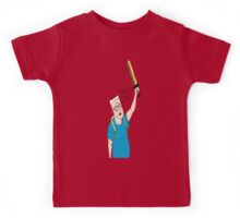 King of the Adventure Time Hill Kids Tee