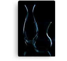 Glassy Silhouette 3 Canvas Print