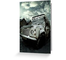 Land Rover 1 Greeting Card