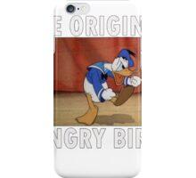 The Original Angry Bird (Donald Duck) iPhone Case/Skin