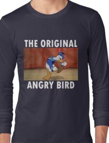 The Original Angry Bird (Donald Duck) Long Sleeve T-Shirt