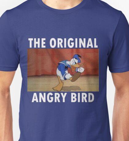 The Original Angry Bird (Donald Duck) Unisex T-Shirt