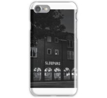 sleepers bar iPhone Case/Skin