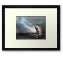 Vibration of Wonder Framed Print
