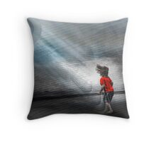 Vibration of Wonder Throw Pillow