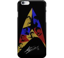 Star Trek The Original Series (Black) iPhone Case/Skin