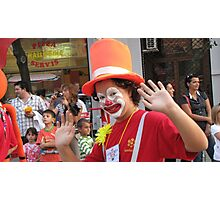 Young clown Photographic Print
