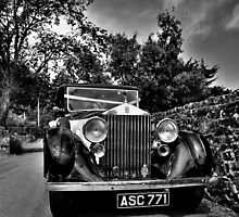 Vintage Rolls Royce by NaturesEarth