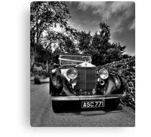 Vintage Rolls Royce Canvas Print