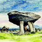 Kilclooney Dolmen by morgansartworld