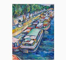 Houseboats on the Seine T-Shirt
