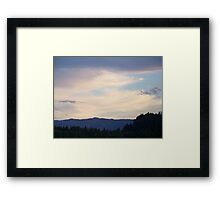 Table Rock Lookout   Framed Print