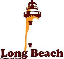 Long Beach - Connecticut. by America Roadside.