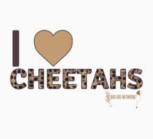 I Love Cheetahs One Piece - Long Sleeve