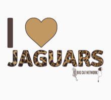 I Love Jaguars Kids Tee
