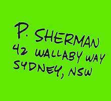 Finding Nemo: P. Sherman by Neysa Tapanes