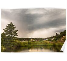 Afternoon Rollinsville Colorado Thunderstorms Poster