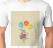 Balloon ABC Unisex T-Shirt