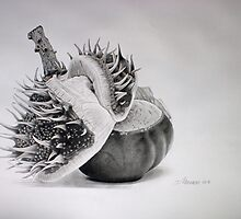 Birth of a chestnut by Dietrich Moravec