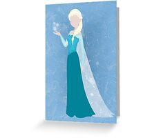 Elsa Greeting Card