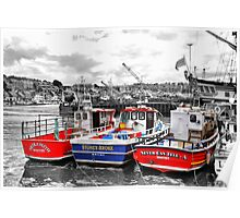 Odd One Out - Whitby Harbour Poster
