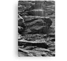 Rock Shower Canvas Print
