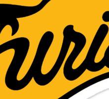 The Baseball Furies Sticker
